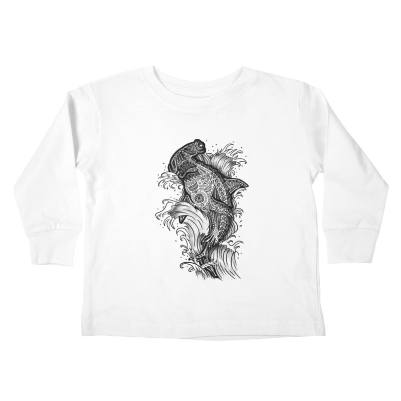Hammerhead Kids Toddler Longsleeve T-Shirt by jordan's Artist Shop