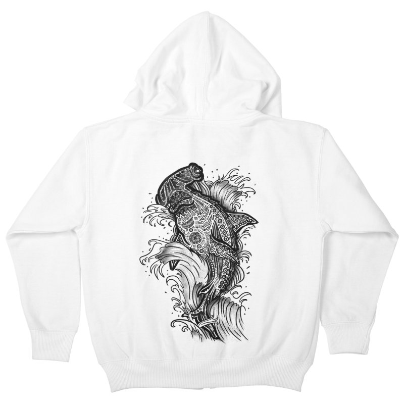 Hammerhead Kids Zip-Up Hoody by jordan's Artist Shop
