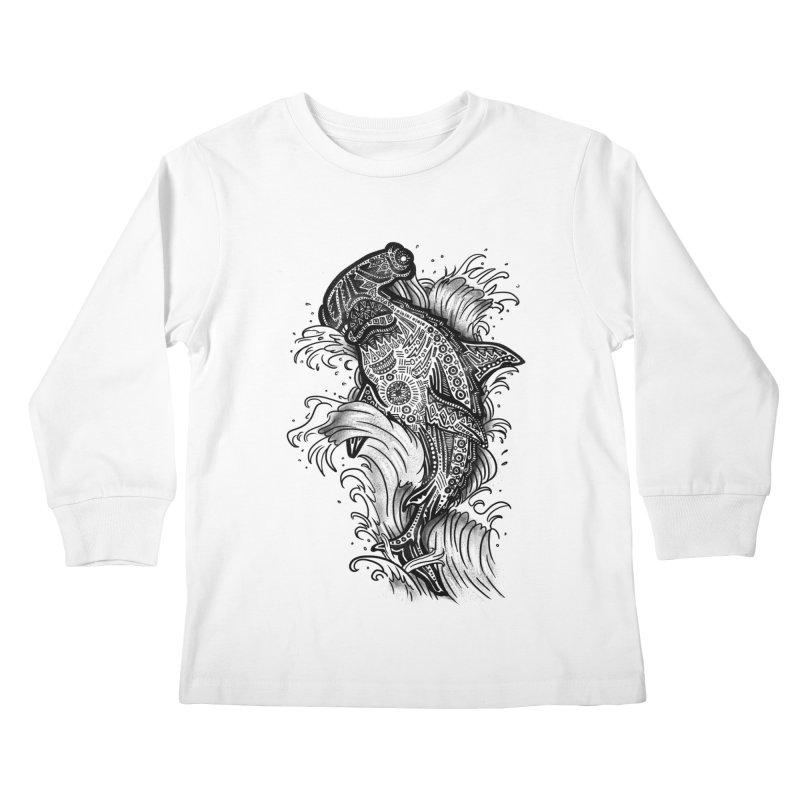 Hammerhead Kids Longsleeve T-Shirt by jordan's Artist Shop