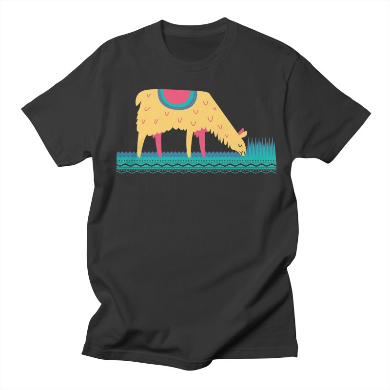 LLamamower Women's Regular Unisex T-Shirt by jordan's Artist Shop
