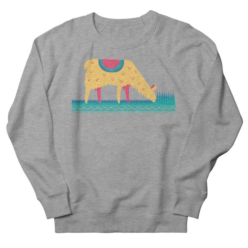 LLamamower Women's French Terry Sweatshirt by jordan's Artist Shop