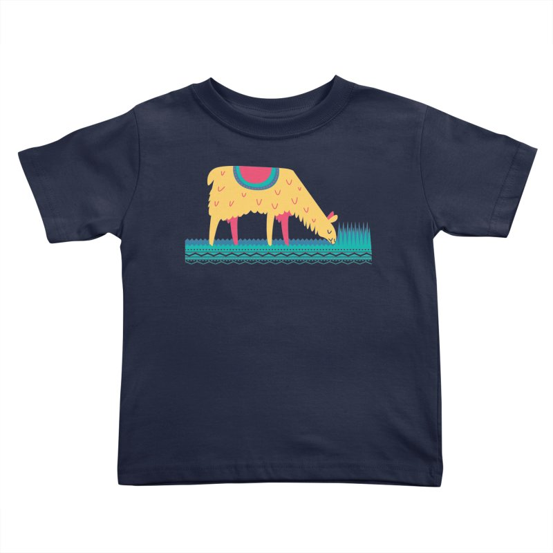 LLamamower Kids Toddler T-Shirt by jordan's Artist Shop