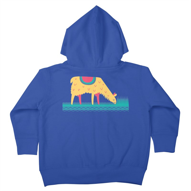 LLamamower Kids Toddler Zip-Up Hoody by jordan's Artist Shop