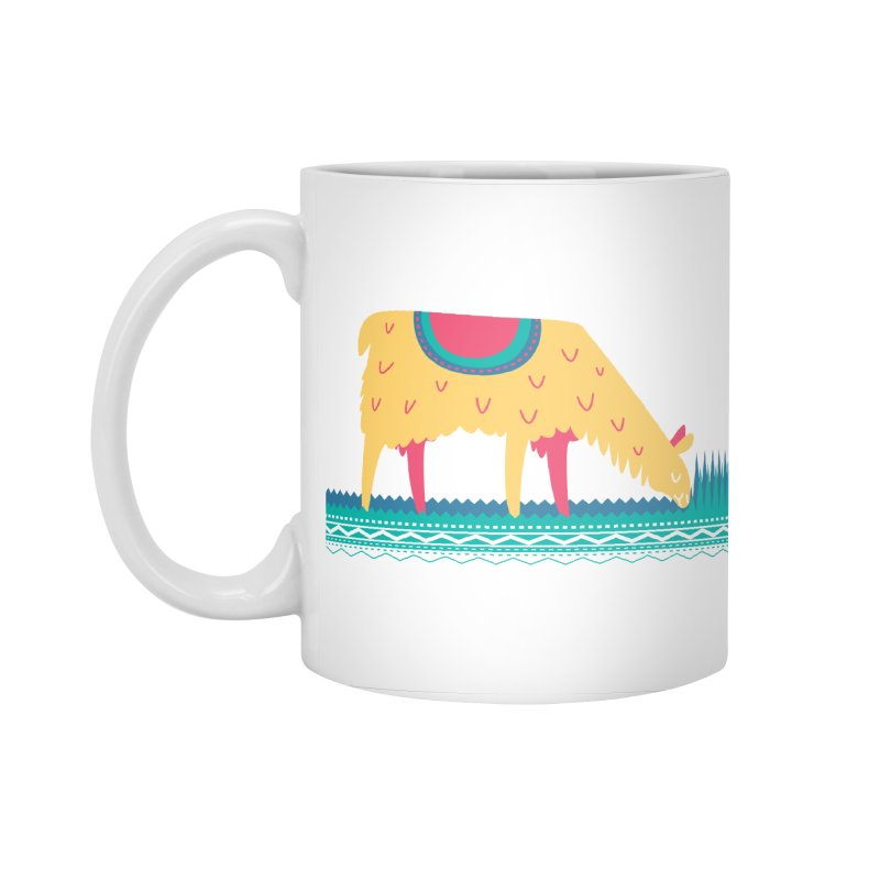 LLamamower Accessories Standard Mug by jordan's Artist Shop
