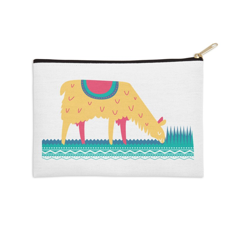 LLamamower Accessories Zip Pouch by jordan's Artist Shop