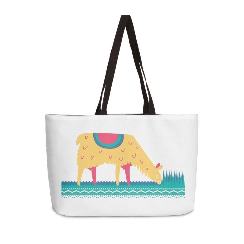 LLamamower Accessories Weekender Bag Bag by jordan's Artist Shop