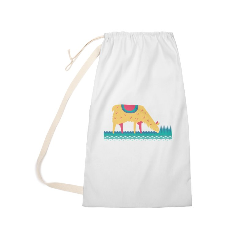 LLamamower Accessories Laundry Bag Bag by jordan's Artist Shop