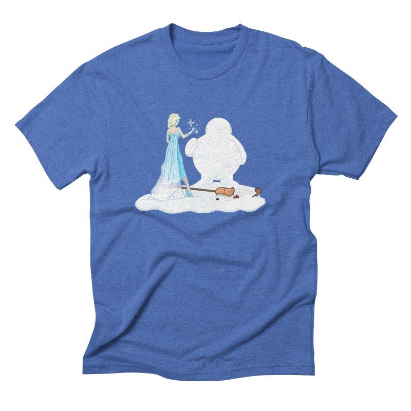 The True Magic Behind Frosty Men's Triblend T-Shirt by jordan's Artist Shop