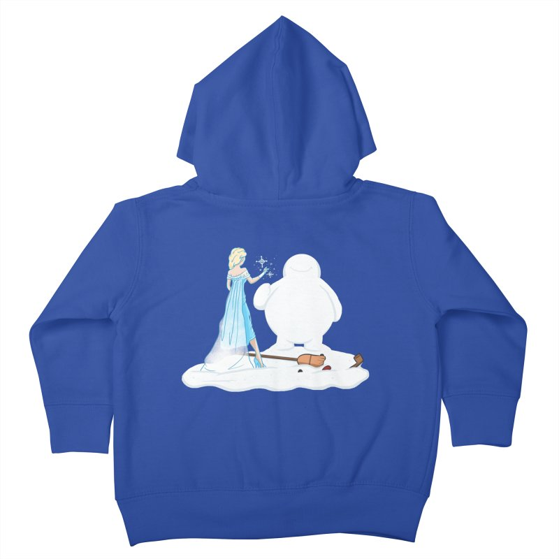 The True Magic Behind Frosty Kids Toddler Zip-Up Hoody by jordan's Artist Shop