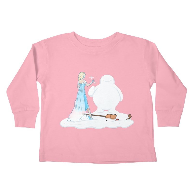 The True Magic Behind Frosty Kids Toddler Longsleeve T-Shirt by jordan's Artist Shop