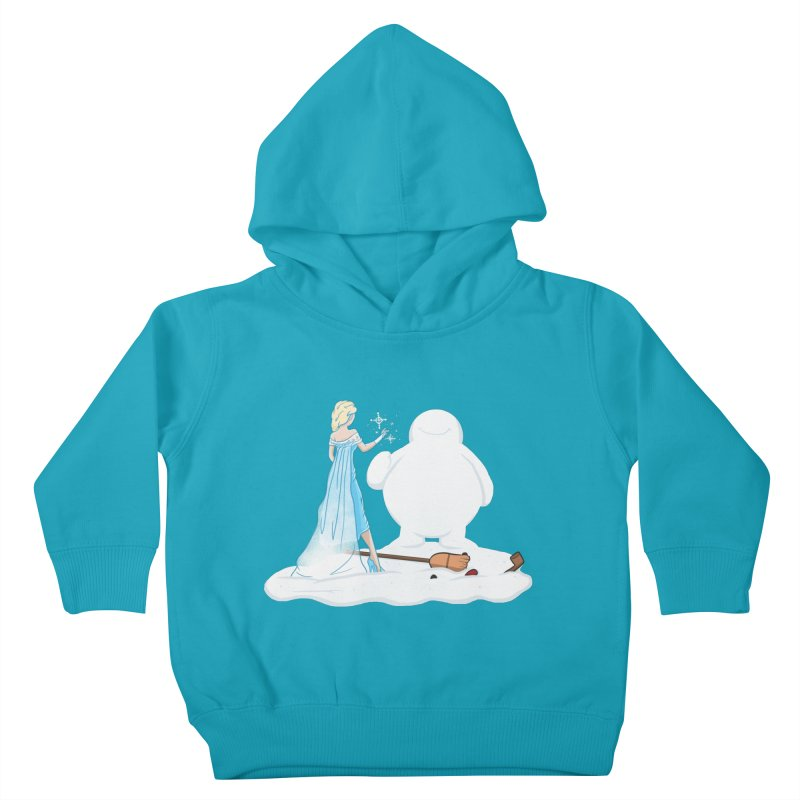 The True Magic Behind Frosty Kids Toddler Pullover Hoody by jordan's Artist Shop