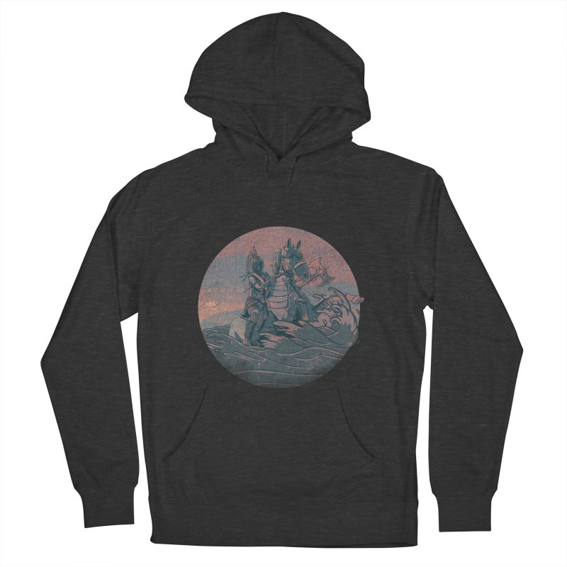 Amazonian Sunset Women's French Terry Pullover Hoody by jordan's Artist Shop