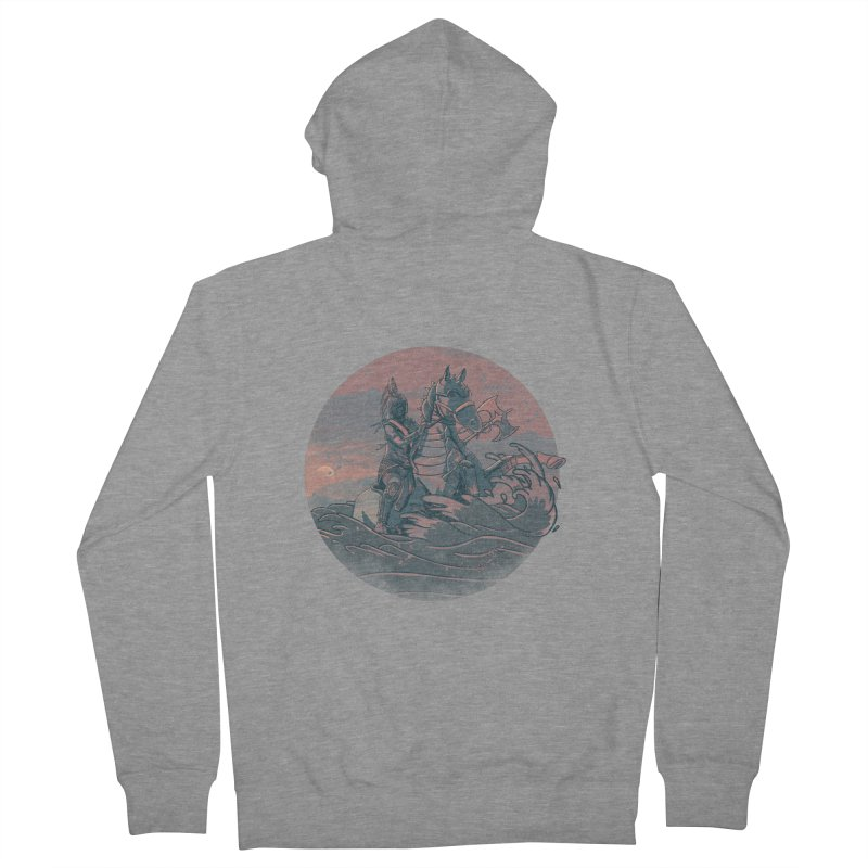 Amazonian Sunset Women's French Terry Zip-Up Hoody by jordan's Artist Shop