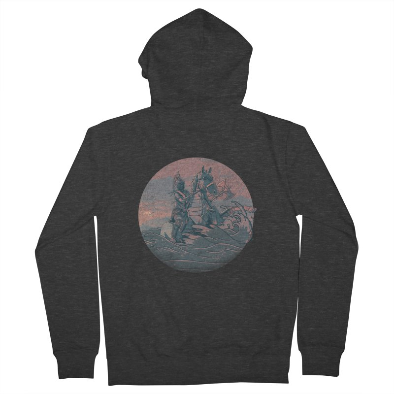 Amazonian Sunset Men's Zip-Up Hoody by jordan's Artist Shop