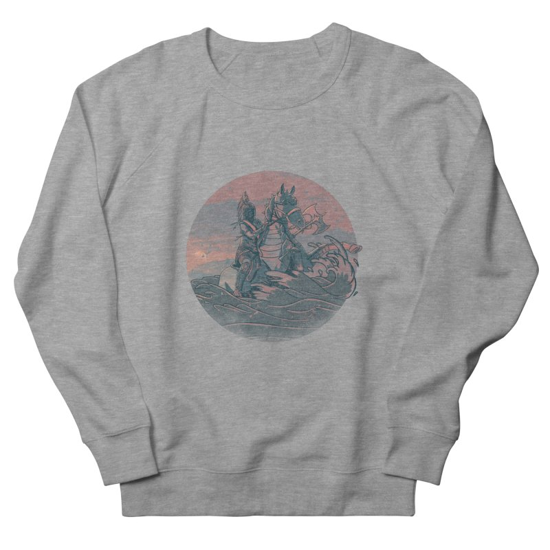 Amazonian Sunset Women's French Terry Sweatshirt by jordan's Artist Shop