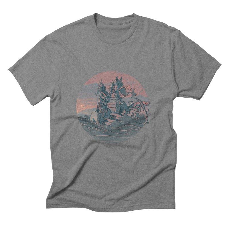 Amazonian Sunset Men's Triblend T-shirt by jordan's Artist Shop