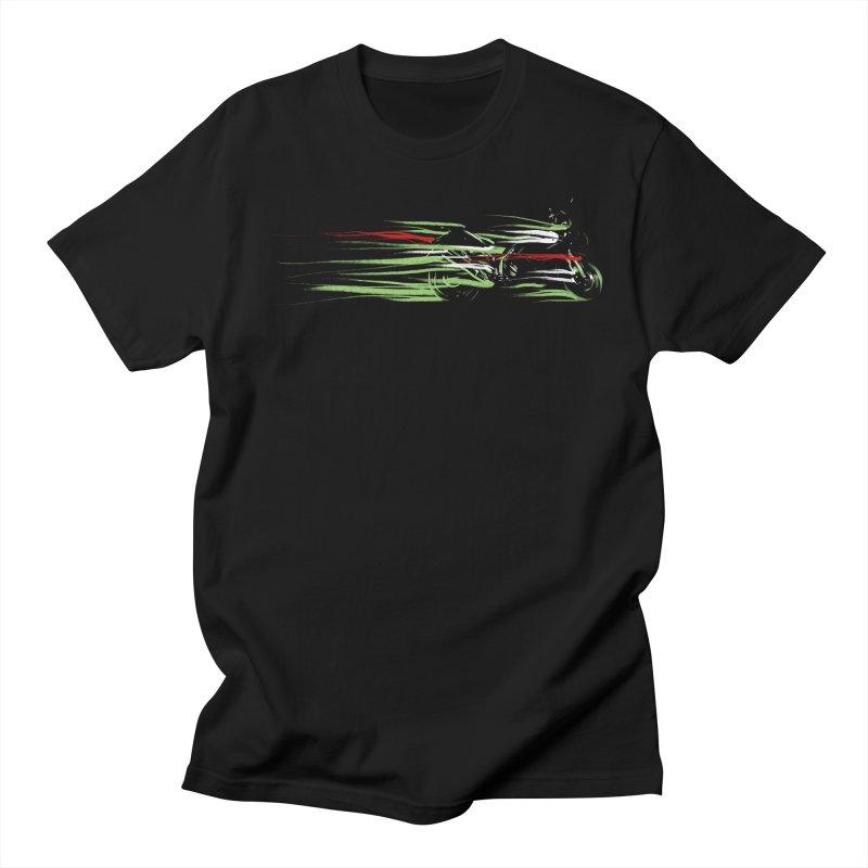 Night Lights Men's T-Shirt by jordan's Artist Shop