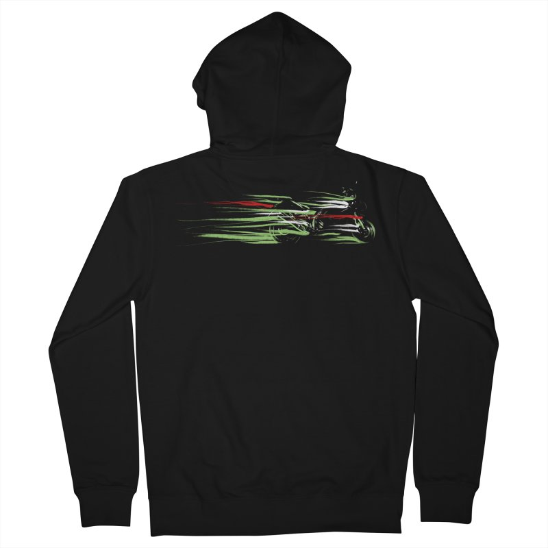 Night Lights Women's Zip-Up Hoody by jordan's Artist Shop