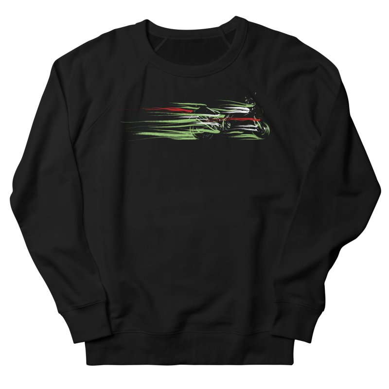 Night Lights Men's French Terry Sweatshirt by jordan's Artist Shop