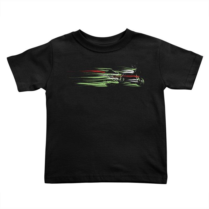 Night Lights Kids Toddler T-Shirt by jordan's Artist Shop