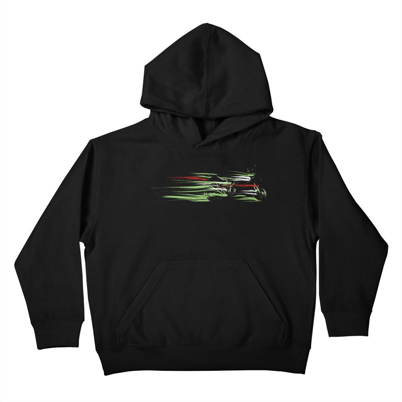 Night Lights Kids Pullover Hoody by jordan's Artist Shop
