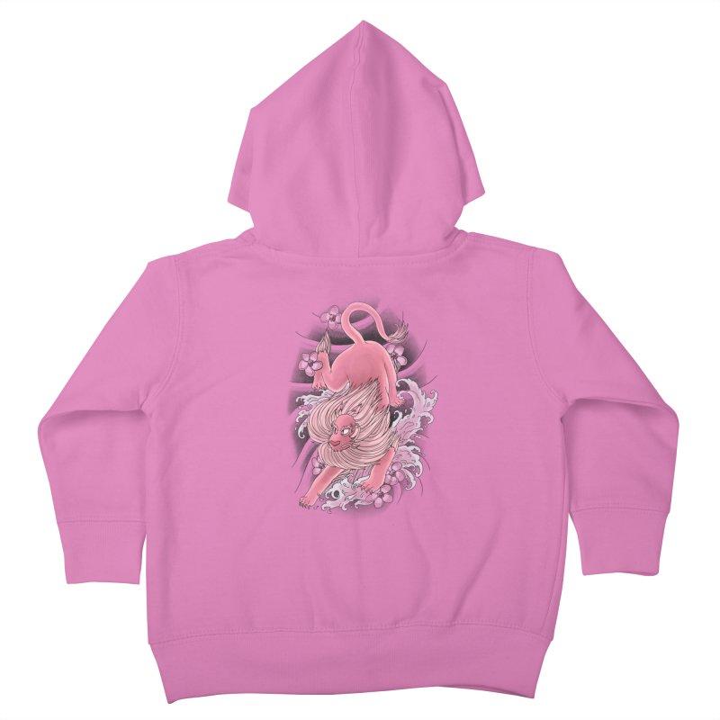 Pink Lion Kids Toddler Zip-Up Hoody by jordan's Artist Shop