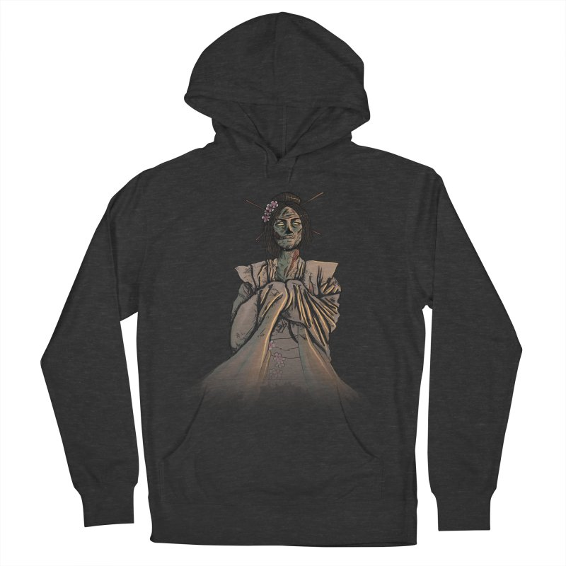 Undead Beauty Women's French Terry Pullover Hoody by jordan's Artist Shop
