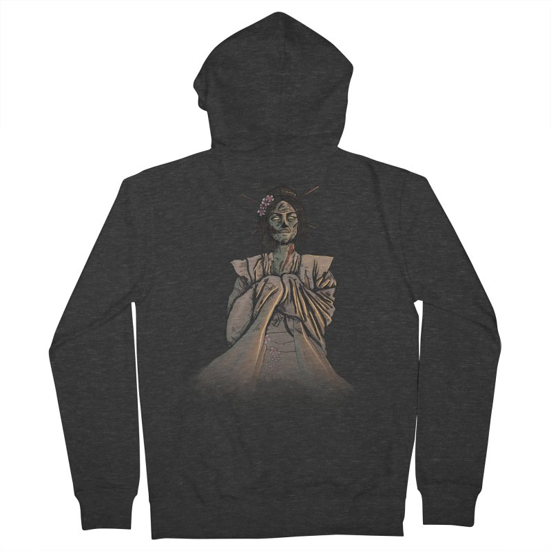Undead Beauty Women's French Terry Zip-Up Hoody by jordan's Artist Shop