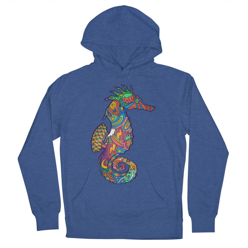 Seahorse Dream Men's French Terry Pullover Hoody by jordan's Artist Shop