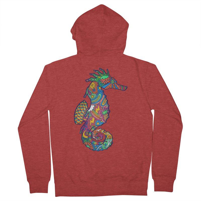 Seahorse Dream Men's Zip-Up Hoody by jordan's Artist Shop