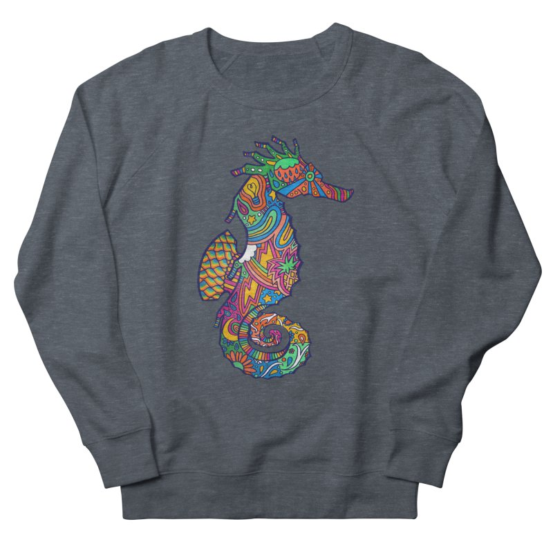 Seahorse Dream Men's French Terry Sweatshirt by jordan's Artist Shop