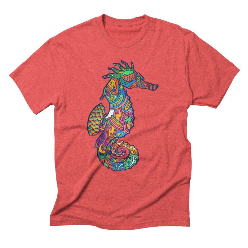 Seahorse Dream Men's Triblend T-Shirt by jordan's Artist Shop