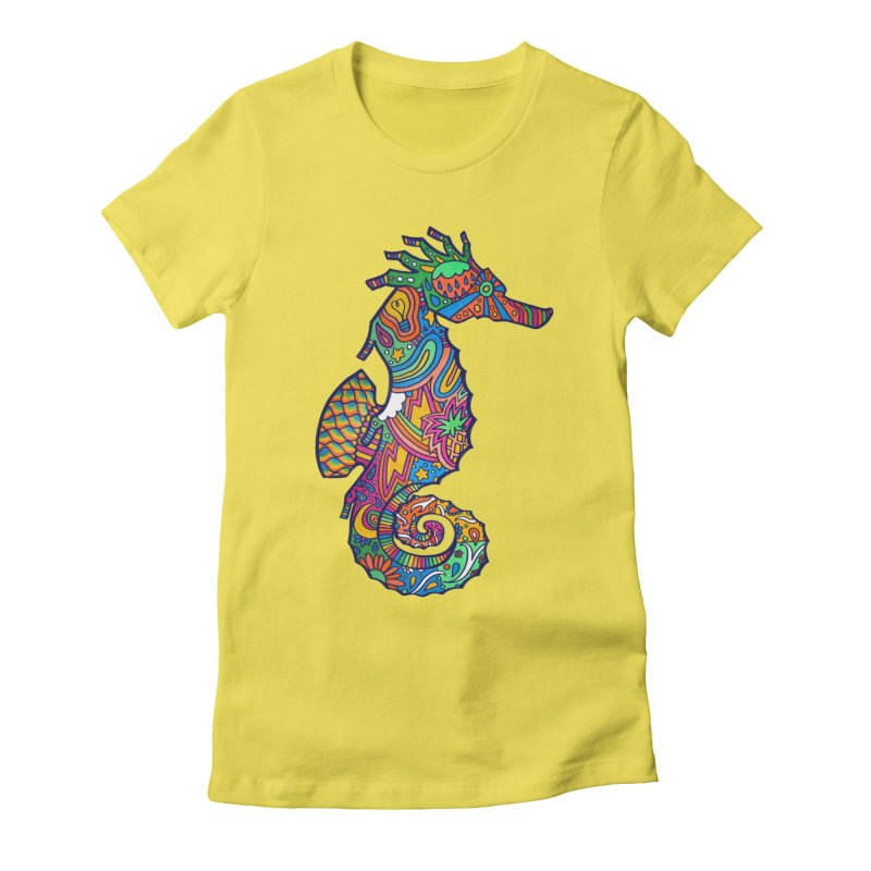 Seahorse Dream Women's T-Shirt by jordan's Artist Shop