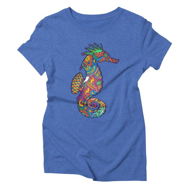 Seahorse Dream Women's Triblend T-Shirt by jordan's Artist Shop