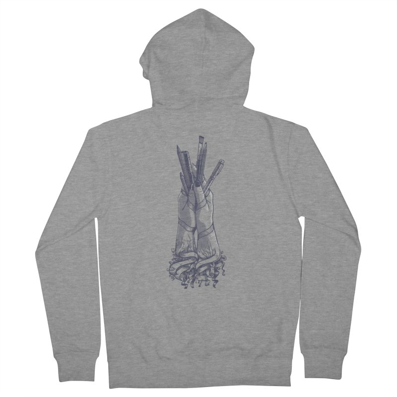 Artist Hands Men's Zip-Up Hoody by jordan's Artist Shop