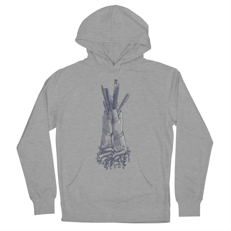 Artist Hands Men's French Terry Pullover Hoody by jordan's Artist Shop