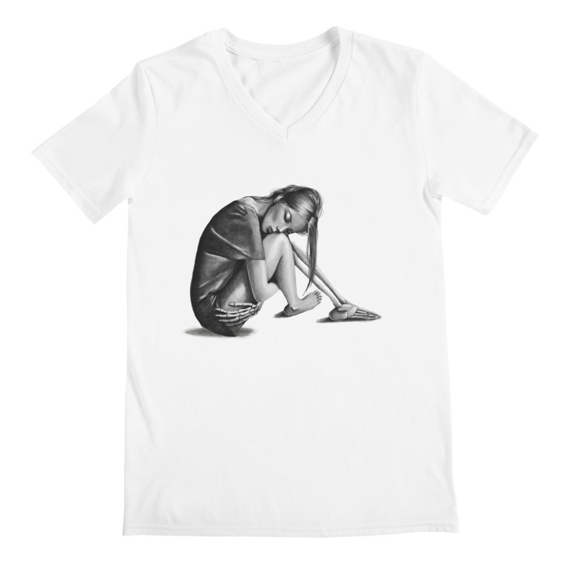 The Left Behinds Men's V-Neck by jordan's Artist Shop