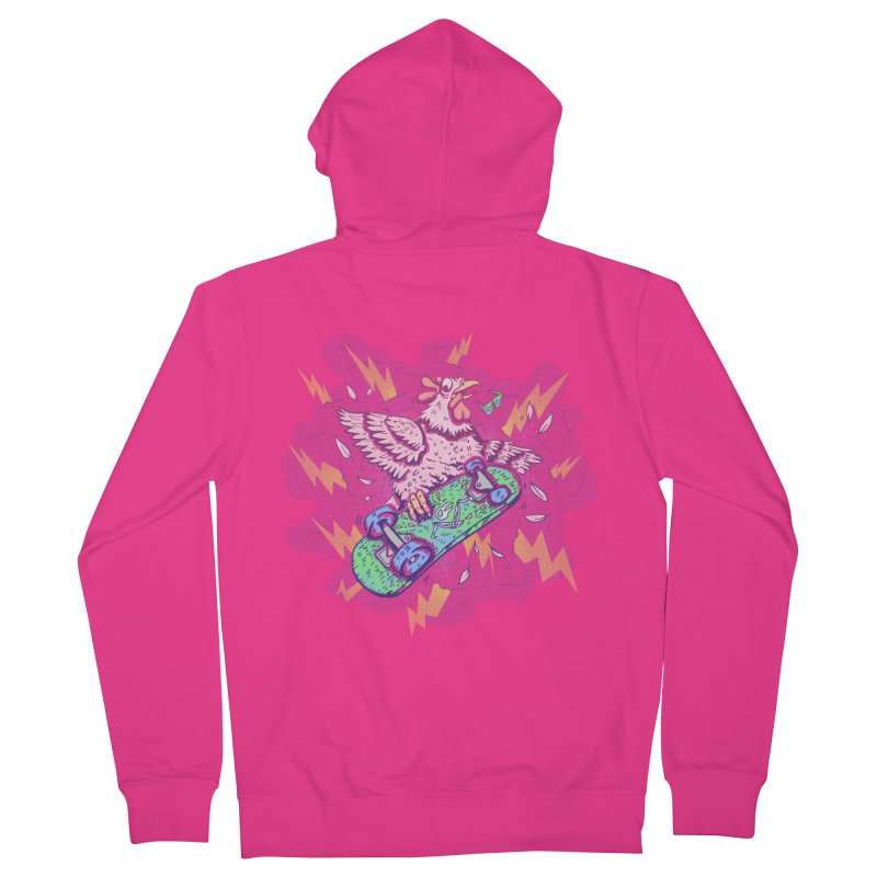Cheepskate Men's Zip-Up Hoody by jordan's Artist Shop