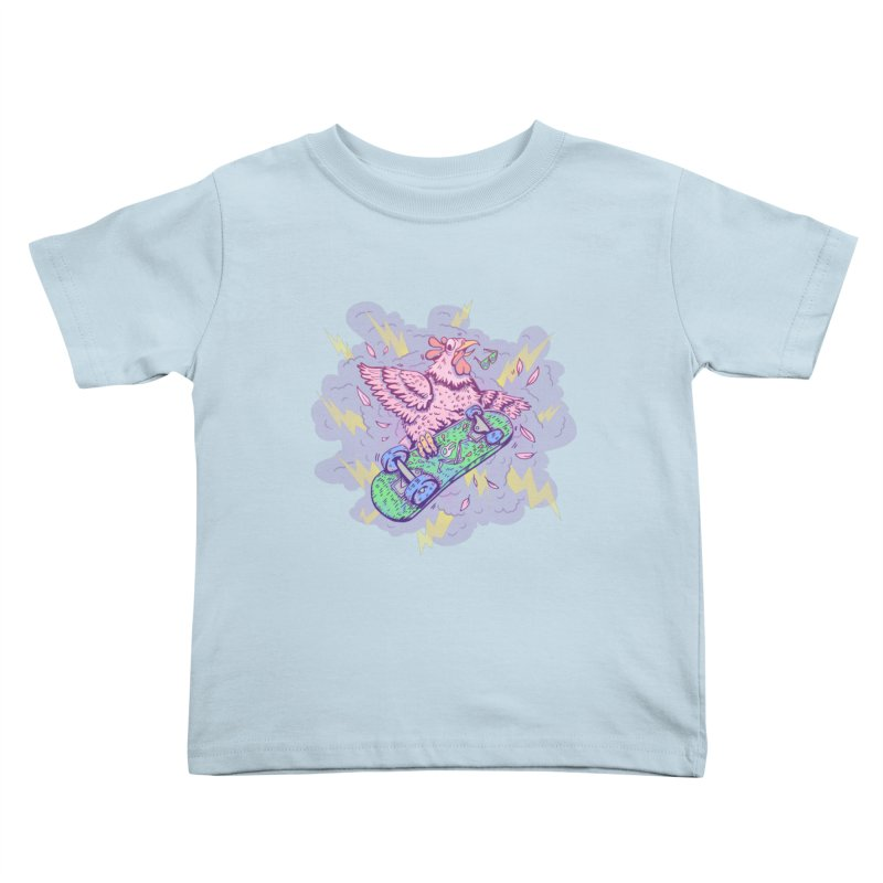Cheepskate Kids Toddler T-Shirt by jordan's Artist Shop