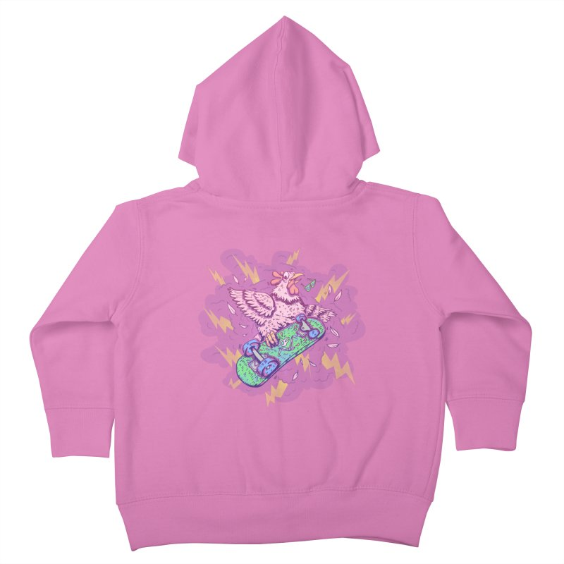 Cheepskate Kids Toddler Zip-Up Hoody by jordan's Artist Shop