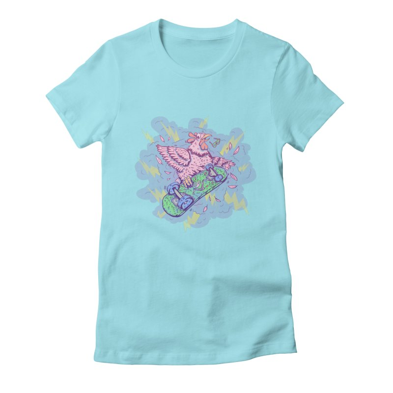 Cheepskate Women's Fitted T-Shirt by jordan's Artist Shop