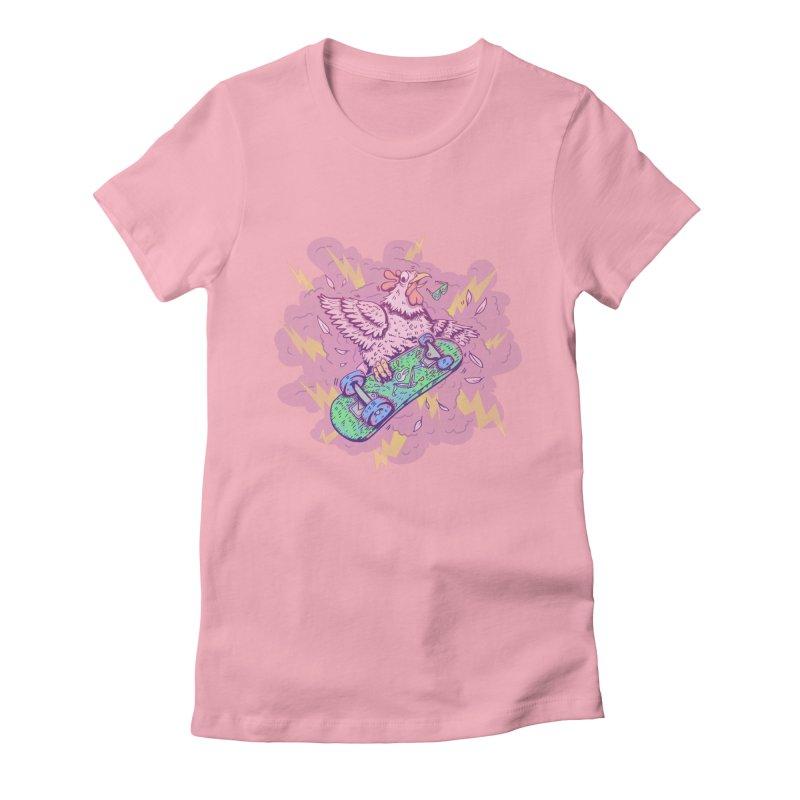 Cheepskate Women's Fitted T-Shirt by jordan's Artist Shop