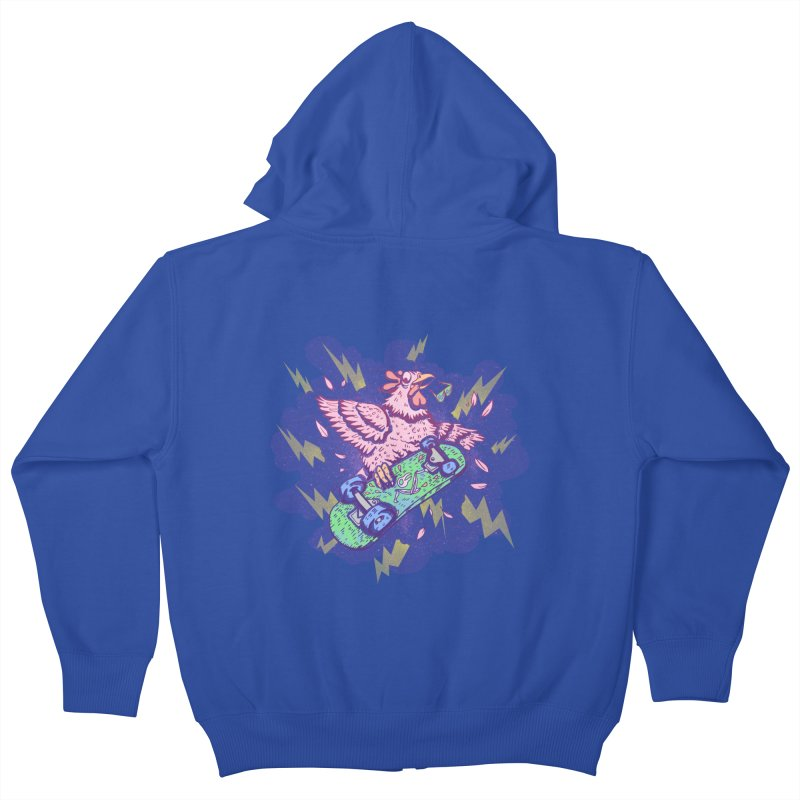 Cheepskate Kids Zip-Up Hoody by jordan's Artist Shop