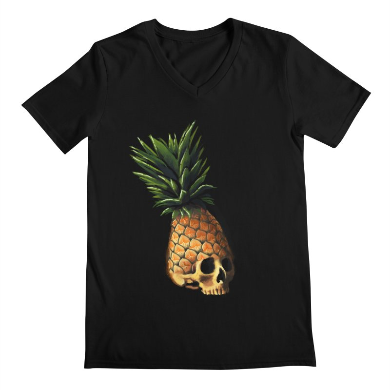 Deathly Delicious Men's Regular V-Neck by jordan's Artist Shop