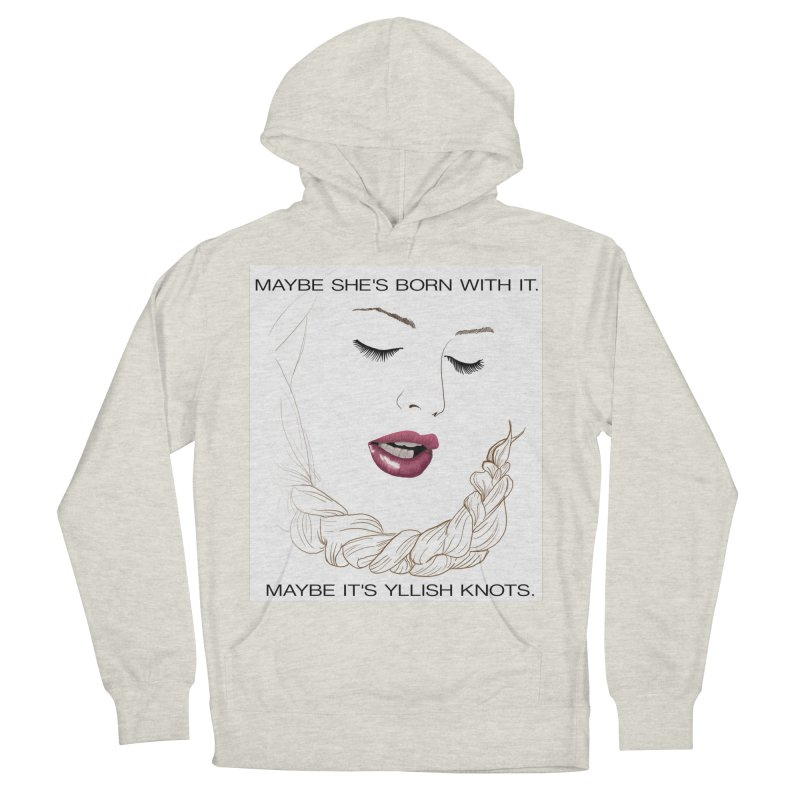 Yllish Knots Women's French Terry Pullover Hoody by JordanaHeney Illustration