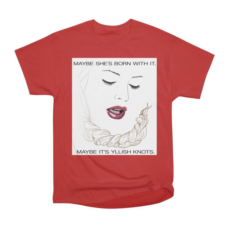 Yllish Knots Men's T-Shirt by JordanaHeney Illustration