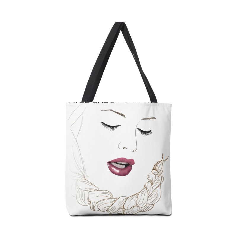 Yllish Knots Accessories Tote Bag Bag by JordanaHeney Illustration