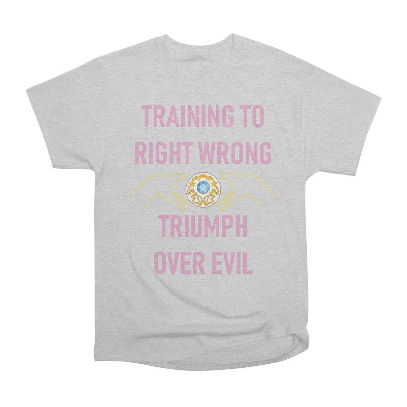 Moon Power Work-out Women's Heavyweight Unisex T-Shirt by JordanaHeney Illustration