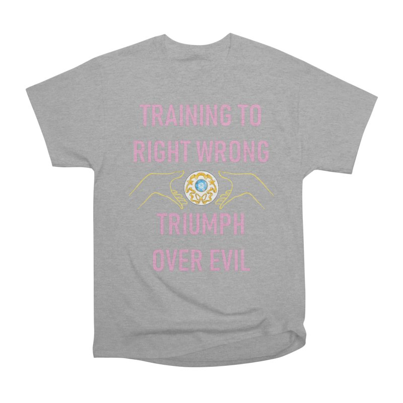 Moon Power Work-out Men's Heavyweight T-Shirt by JordanaHeney Illustration