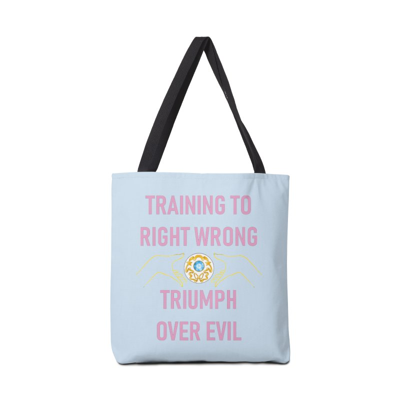 Moon Power Work-out Accessories Tote Bag Bag by JordanaHeney Illustration